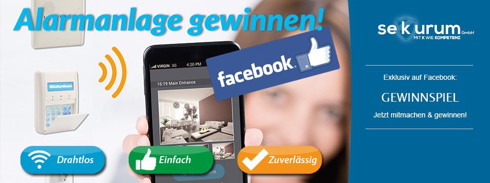 Mitmachen & gewinnen! Großes Alarmanlagen Gewinnspiel auf Facebook!