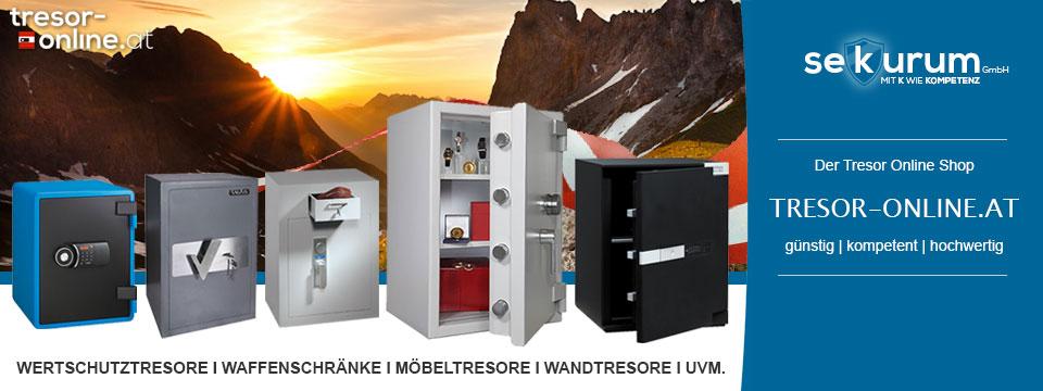 tresor-online.at - Der Tresor Online Shop für Österreich